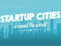 Top 8 cities for entrepreneurs around the world #Infographic