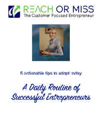A Daily Routine of Successful Entreprenurs
